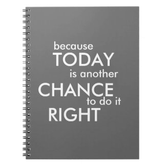 Because Today Is Another Chance - Journal