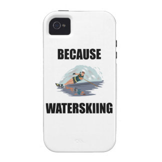 Because Waterskiing iPhone 4 Covers