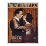Because You Believe In Me Poster