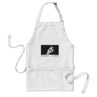 becausescience adult apron