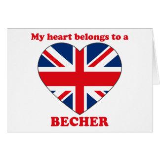 Becher Greeting Card