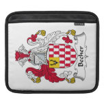 Becher Family Crest iPad Sleeves