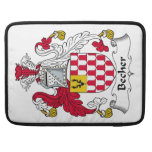 Becher Family Crest Sleeves For MacBook Pro