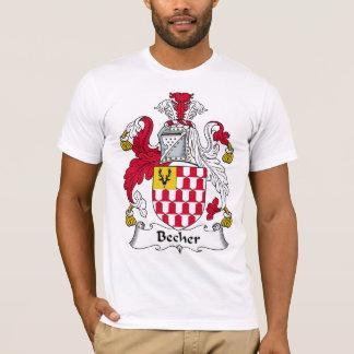 Becher Family Crest T-Shirt