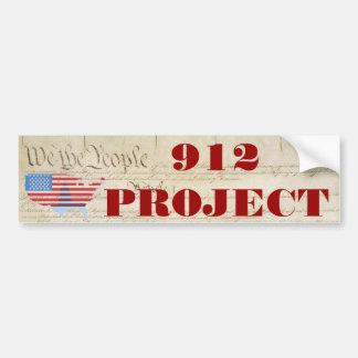 Beck 912 Project Bumper Sticker