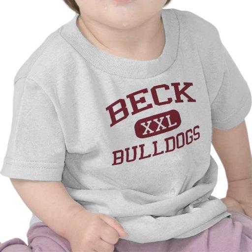 Beck - Bulldogs - Junior High School - Katy Texas Tshirt