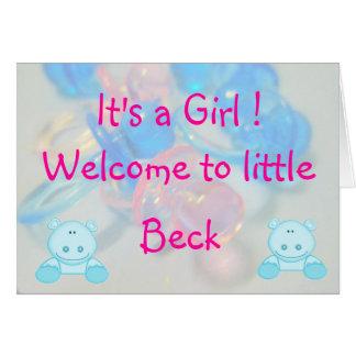 Beck Card