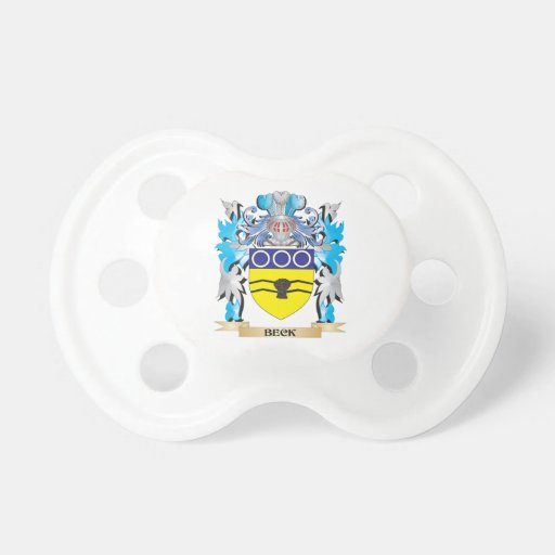 Beck Coat of Arms Pacifier