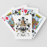 Beck Family Crest Deck Of Cards