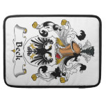Beck Family Crest MacBook Pro Sleeves