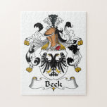 Beck Family Crest Puzzle