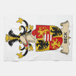 Beck Family Crests Kitchen Towels