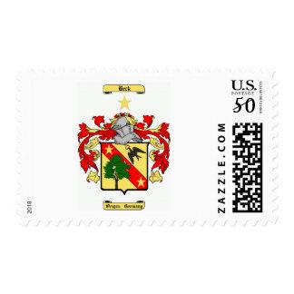beck (german) postage