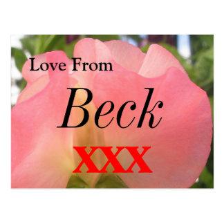 Beck Postcard
