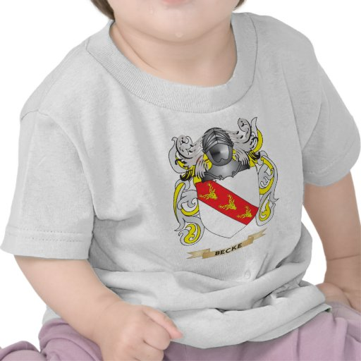 Becke Coat of Arms (Family Crest) Tees