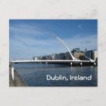 Beckett Bridge Over Dublin River