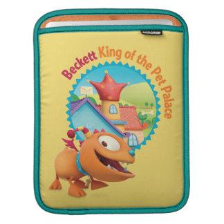Beckett - rey del palacio del mascota mangas de iPad