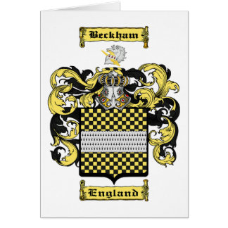 Beckham Card