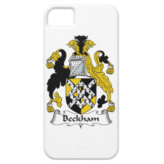 Beckham Family Crest iPhone 5 Covers