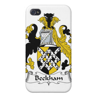 Beckham Family Crest iPhone 4 Covers