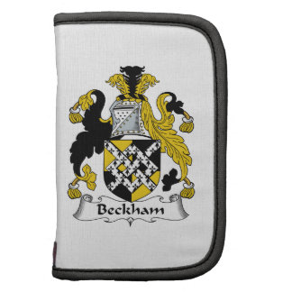 Beckham Family Crest Folio Planners