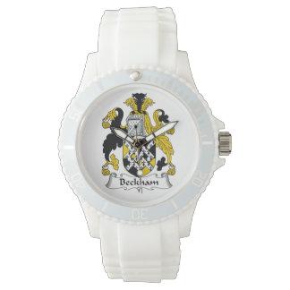 Beckham Family Crest Wrist Watches