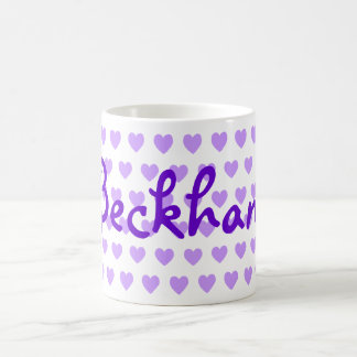 Beckham in Purple Coffee Mug