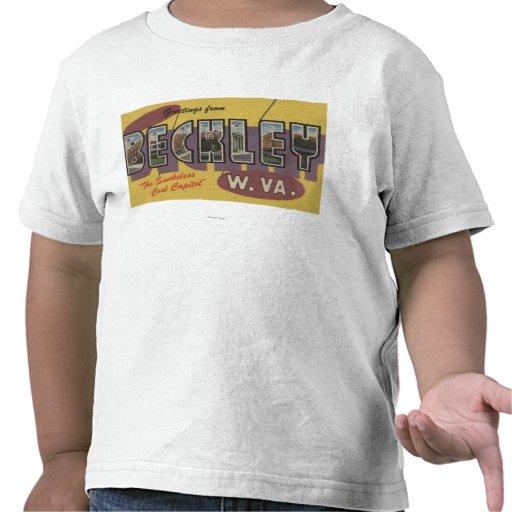 Beckley, Virginia Occidental - escenas grandes de  Camisetas
