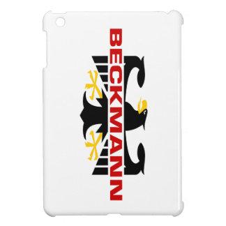 Beckmann Surname iPad Mini Covers