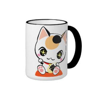 Beckoning cat-招ki cat mug