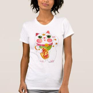 Beckoning Cat  Maneki Neko T-shirts