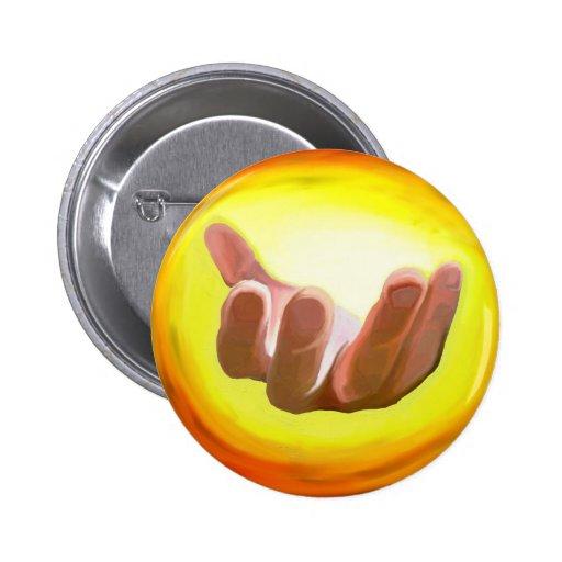 Beckoning Hand Button