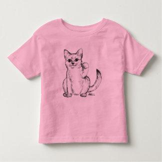 Beckoning Kitty Cat Maneki Neko Toddler T-shirt