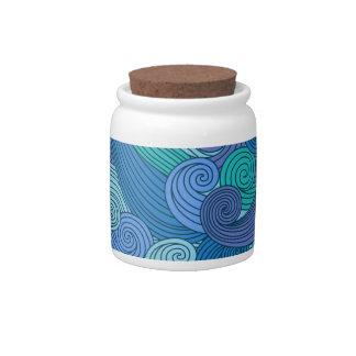 Beckoning Ocean Candy Jars