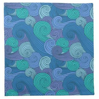 Beckoning Ocean Cloth Napkin