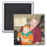 Becky and Lilly magnet