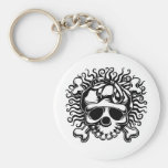 Becky Roger -b/w Key Chains