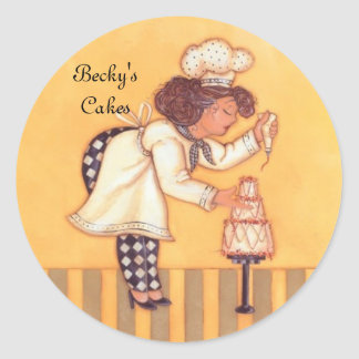Becky'sCakes Classic Round Sticker
