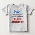 "[ Thumbnail: ""... Become a Database Administrator?!"" T-Shirt ]"