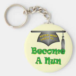 Become A Nun Key Chains