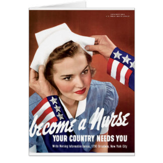 Become A Nurse Card