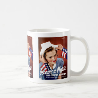 Become a Nurse Classic White Coffee Mug