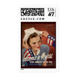 Become A Nurse Your Country Needs You Postage Stamp