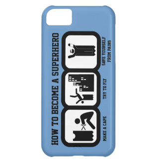 Become a Superhero iPhone 5C Cover
