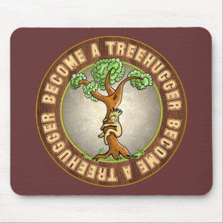 Become a Treehugger Mouse Mats