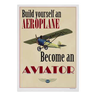 Become an Aviator Poster