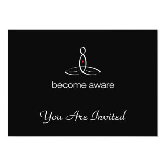 Become Aware - White Regular style Card