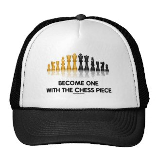 Become One With The Chess Piece (Reflective Chess) Trucker Hat