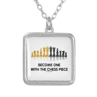 Become One With The Chess Piece (Reflective Chess) Pendants