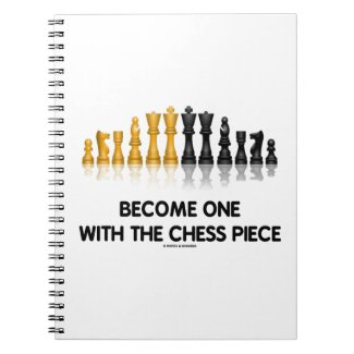 Become One With The Chess Piece (Reflective Chess) Journal